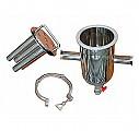 NS마그네트 초강력 봉자석 필터(D114x190L) 액상 액체 철분 철가루제거 쎄니타리